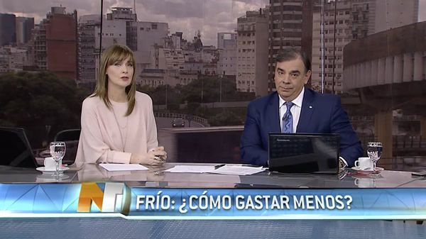 Assistgas en Noticiero Trece